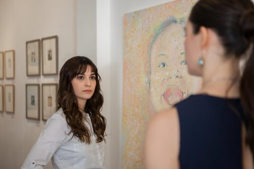 Raquel Esteban in The Missing Painting in London 2016 directed by Mario Manas, Edward, Bishop, Chapters, People, freelance, unit, stills, photographer, portrait, photography, crew, commercials, promos, film, drama
