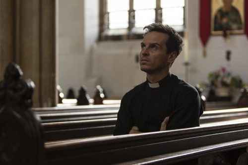 Stills of Andrew Scott in comedy drama 'Fleabag' Series 2. Luke, Varley, Chapters, People, freelance, production, unit, stills, photographer, photography, portrait, crew, commercials, promos,