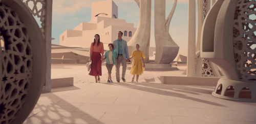 Qatar Airways 'Like Never Before'. Chapters, People, freelance, production, unit, stills, crew, commercials, content, promo